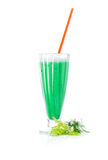 Close up of a green cocktail Stock Image