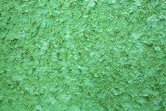 Close up of green Concrete texture Royalty Free Stock Photos