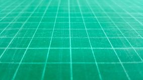 Close-up green cutting mat rubber-stamp background Stock Photography
