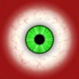 Close up of green eye Stock Photos