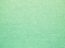 Close up green fabric textured background Stock Photo