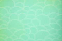 Close up of green  paper Stock Photo