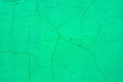 Close up green plaster surface texture background Royalty Free Stock Images