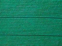 Close up green plastic shading net . Stock Image