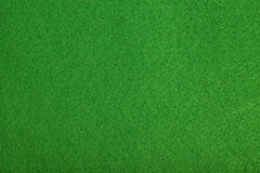 Close-up of green poker table felt background Stock Photography