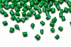 Close-up green polymer Royalty Free Stock Image