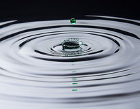Green Water Drop Splash Royalty Free Stock Photography