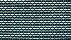 Woven plastic mesh, close up, background. Close up of green and white plastic, woven into mesh for a garden chair royalty free stock image