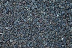Close up grey granite gravel background. Pebble background Gravel texture. Gravel background. Stones texture royalty free stock photos