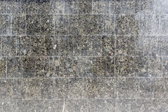 Close up grey granite tiles Royalty Free Stock Images
