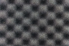 Close up grey sponge texture Stock Image
