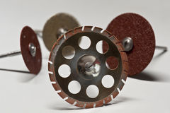 Close up Grinder for teeth Stock Photography