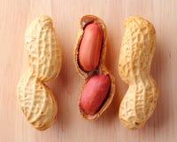Close up of groundnuts Stock Photos