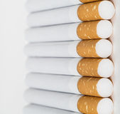 Close-up group cigarette butts, Royalty Free Stock Image