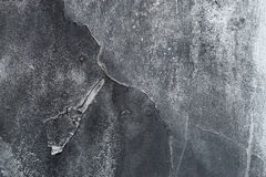 Close up of grungy rough scratched grey metal background Royalty Free Stock Photography