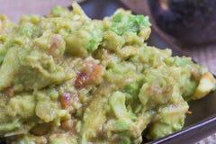 Close up guacamole Royalty Free Stock Image