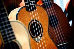 Close-up of Guitar Stock Photo