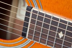 Close-up of Guitar Royalty Free Stock Images