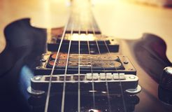 Close-up of Guitar Royalty Free Stock Photo