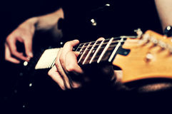 Close-up of guitar stock images