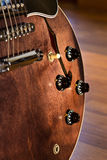 Close up guitar's knob Royalty Free Stock Photography