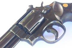 Close up Gun with ammunition Royalty Free Stock Photo