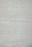 Gypsum plastered wall Royalty Free Stock Images