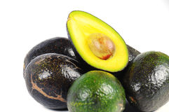 Close up of an half avocado Stock Photography