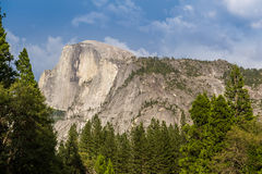Close up of Half Dome Royalty Free Stock Photo