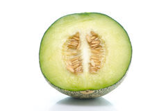 Close up of half melon Royalty Free Stock Photo