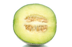 Close up of half melon Stock Image