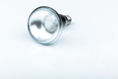 Close up of a halogen light bulb Royalty Free Stock Photo