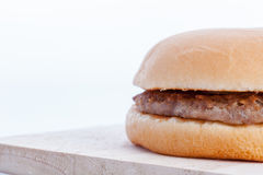 Close up of hamburger Stock Image