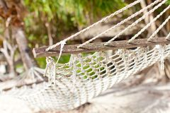 Close-up of hammock Royalty Free Stock Photography