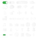Close up hand hold phone isolated on white background, mock-ups Stock Image