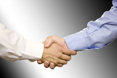 Close Up of Hand Shake Stock Photo