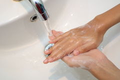 Close Up Hand Wash Royalty Free Stock Images