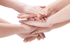 Close-up of hands Royalty Free Stock Photo