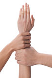 Close-up of hands Royalty Free Stock Images