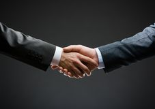 Close up of handshake Royalty Free Stock Photos