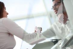 Close up. handshake of international business partners . royalty free stock photos