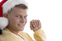 Close up of handsome male looking at camera Stock Photography