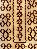 Close up of a hanged colourful handmade traditional wool rug royalty free stock photos