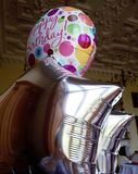 Happy Birthday helium balloons