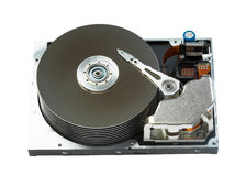 Close up of hard disk Stock Photography
