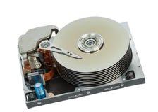 Close up of hard disk Royalty Free Stock Photos