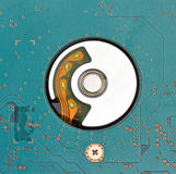 Close up Hard disk drive Royalty Free Stock Images