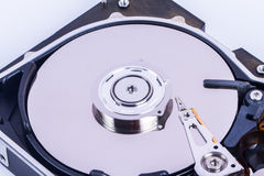 Close Up Hard Disk Stock Photo
