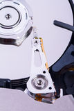 Close Up Hard Disk Royalty Free Stock Photo