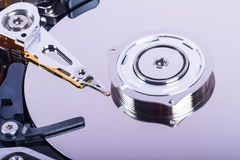 Close Up Hard Disk Royalty Free Stock Photography